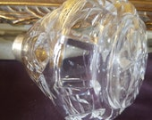 Waterford Crystal Lismore Perfume Bottle and Atomizer