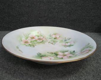 Large Johann Seltmann hand painted Dish or Plate