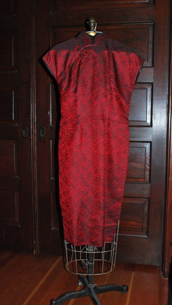 Ruby's Lucky Red Chinese Dress