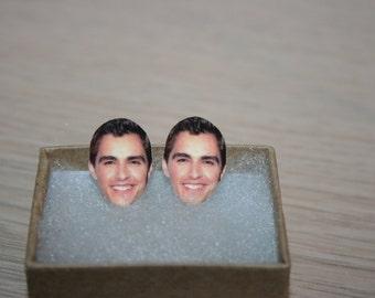 Dave Franco Post Stud Earrings Celebrity Jewelry