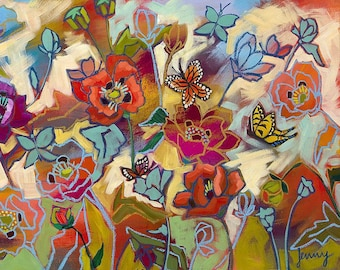 Poppy Field Art Print