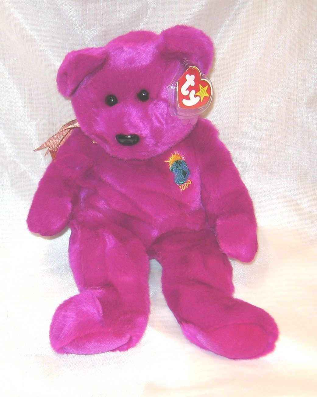 1bb5c3454c8 TY Beanie Baby Buddy Millennium Bear 431