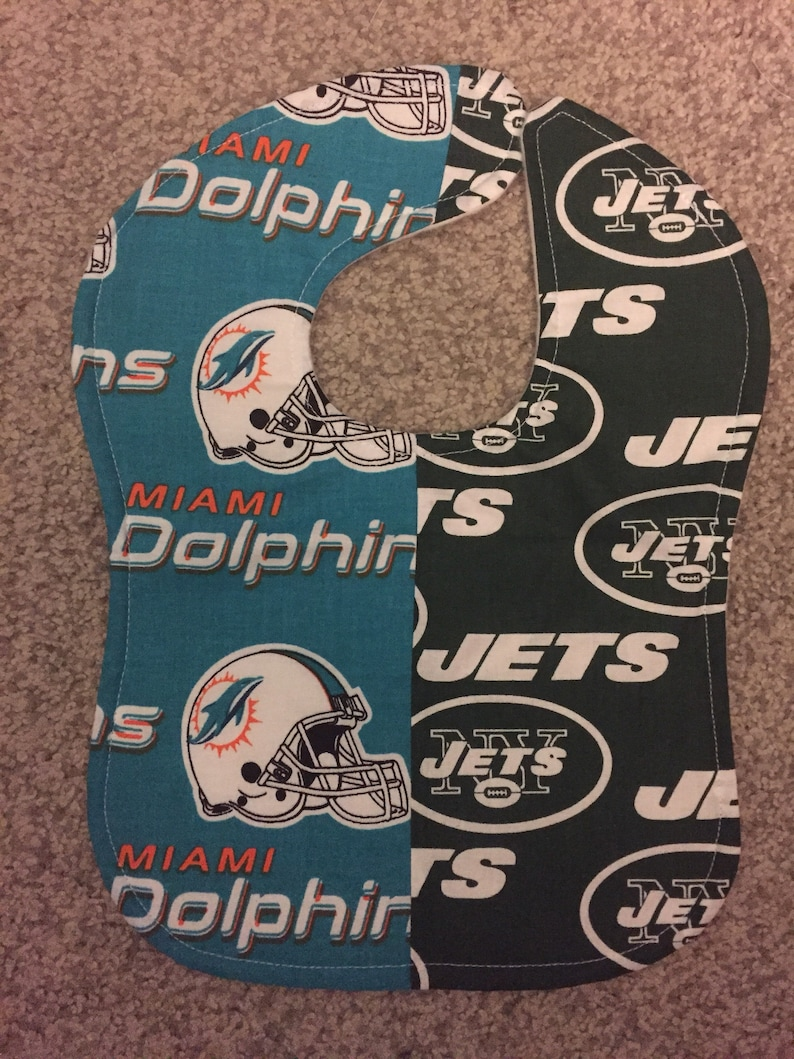 8ea2bf5c6 Miami Dolphins / NY Jets New York House Divided Rival NFL | Etsy