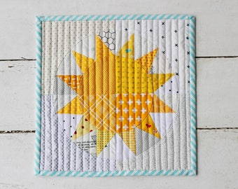 You Are My Sunshine Mini Quilt Pattern (PDF Download)