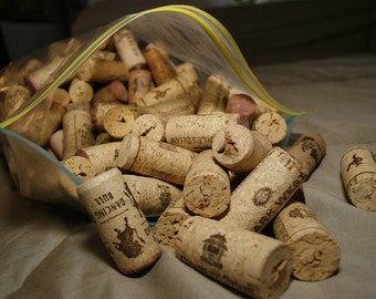 BIG batch of reusable corks, natural, synthetic and champagne