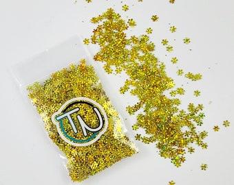 Gold Snowflake Confetti Mix