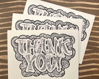 ASSORTED NOTECARDS - Thank You