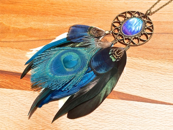 Turquoise Dream Catcher Necklace Real Butterfly Wing Necklace Etsy Adorable Is Dream Catcher Real