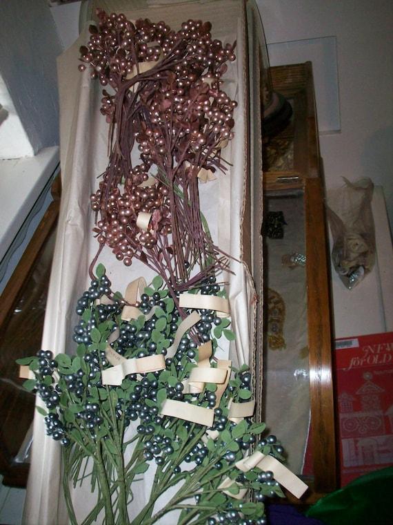 1 Antique spray de chapellerie allemand Antique 1 baies en cacao Beige 75a8dc