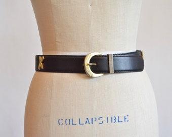 Vintage PALOMA PICASSO leather belt
