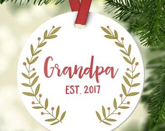 Grandpa ornament   Etsy