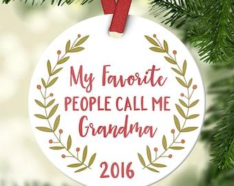 Grandma ornament | Etsy