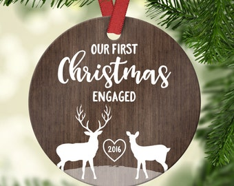 engagement gifts christmas ornaments personalized engagement ornament christmas ornaments engaged christmas gift for fiance gift christmas