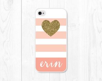 iPhone 6s Plus Case Peach Cute iPhone Se Case iPhone 6s Case iPhone 6 Plus  Case Personalized Womens Monogram Pink iPhone 5 Case Cute 5243c5f51
