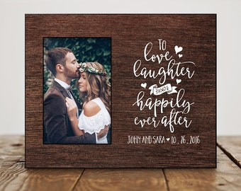 Wedding photo frame | Etsy