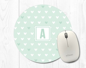 round mouse pad etsy