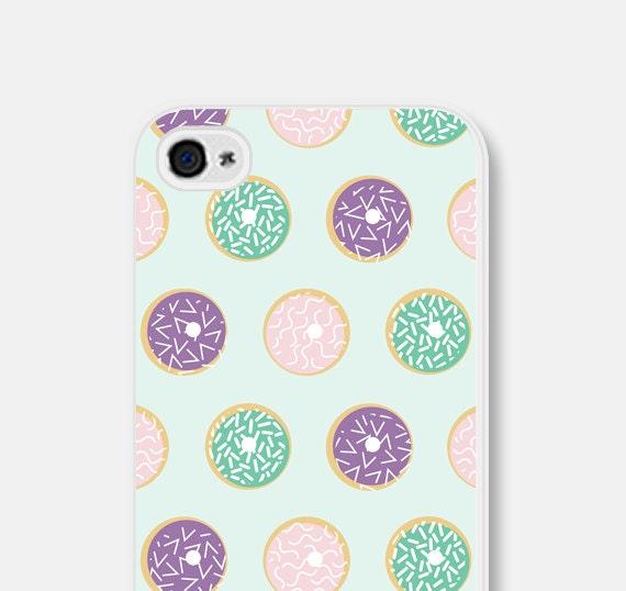 reputable site a8a80 11d03 Doughnut Phone Case - Doughnut iPhone 6 Case - Donut iPhone 5 Case - iPhone  Case - Mint Green Phone - Doughnut Samsung Galaxy S5 Case Fun