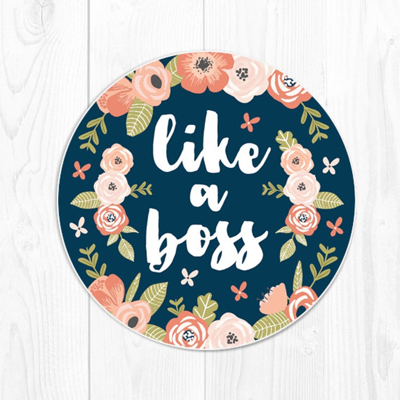 Coworker Gift Mouse Pad Boss Gift School Supplies Coral Desk image 1