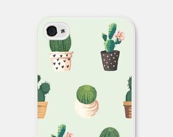 iPhone 6 Case Samsung Galaxy S7 Case iPhone 6s Case Cactus iPhone 5c Case iPhone 5s Case Succulent Phone Case iPhone 6 Plus Case Cactus Mint