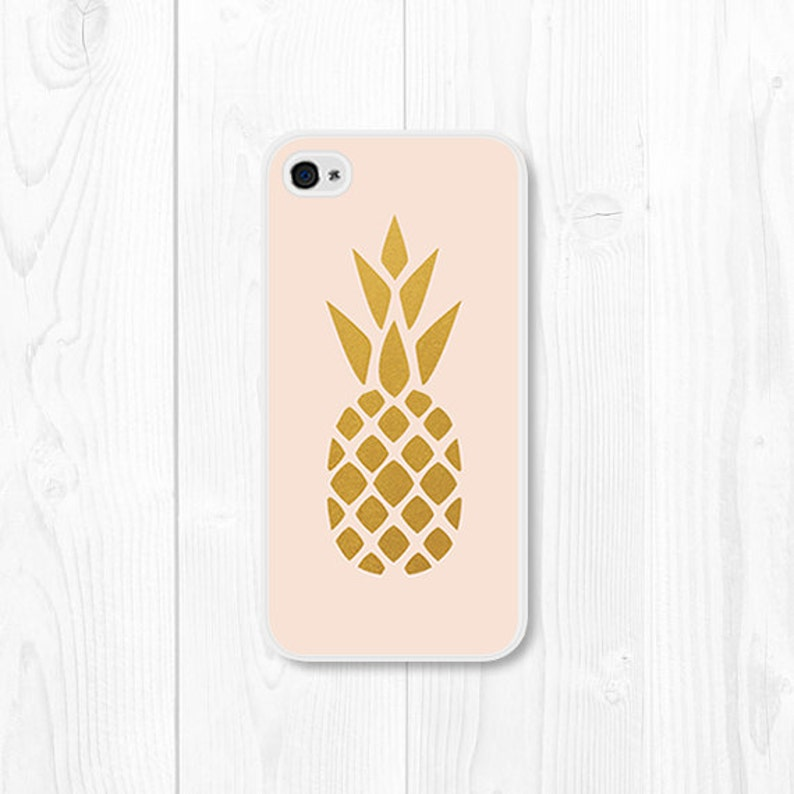 buy popular 6e25c 086e9 iPhone 6 Case Pink and Gold Pineapple iPhone 5c Case Pineapple iPhone 5  Case Pineapple iPhone 4 Case Pineapple SE Case Pineapple Phone Case