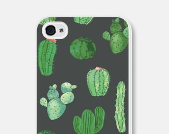 iPhone SE Case Cactus Phone Case Cactus iPhone 6 Case Gift Cactus iPhone 7 Case Cactus iPhone 5 Case Samsung Galaxy S7 Case Cactus S5 Case