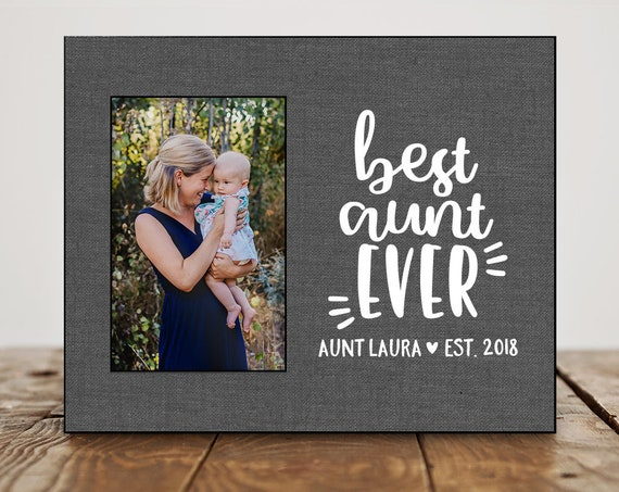 Aunt Birthday Gift For Aunt Gift Pregnancy Reveal To Sister