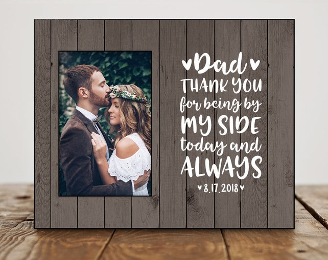 Father Of The Bride Gift From Bride Dad Wedding Gift From Bride