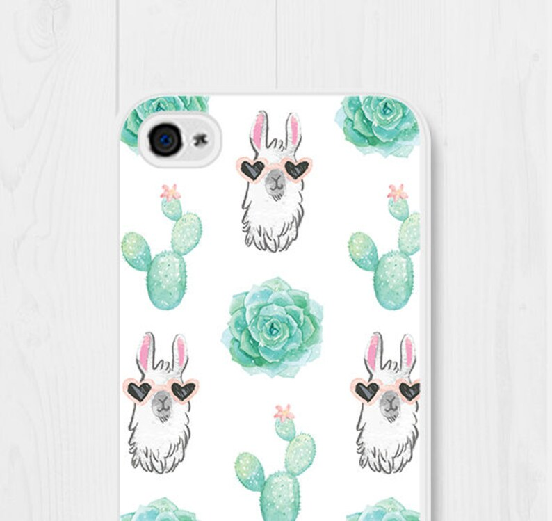 factory price 2a00d 03758 Llama iPhone 8 Case iPhone SE Case iPhone 7 Case Cactus iPhone 6 Plus Case  iPhone 4 Case iPhone 6 Case Samsung Galaxy S7 Case Galaxy S5 Cute