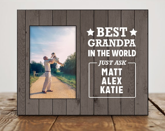 Birthday Gift For Grandpa Personalized