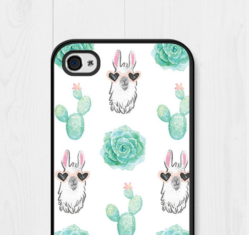 big sale 00895 70c57 Llama Gifts iPhone SE Case Cactus iPhone 6 Case Cactus iPhone Case Cactus  iPhone 7 Case Llama iPhone 8 Case Llama Samsung Galaxy S7 Cute