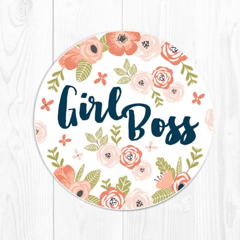 Mouse Pad Mousepad Gift for Coworker Gift for Boss Girl Boss Gift for Her  Floral Girlfriend Quote Mouse Pad Cute Mousepad Office Gifts Fun