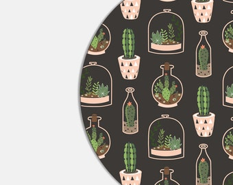 Mouse Pad Cactus Mousepad Succulent School Supplies Gift Dorm Decor Cubicle Decor Pink Office Supplies Coworker Gift Office Decor Fun 9335