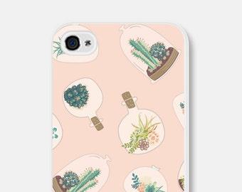 Samsung Galaxy S6 Case iPhone 6 Case Cactus iPhone 6 Plus Case Cactus iPhone 6s Case iPhone 5c Case Succulent iPhone 5 Case iPhone 5s Case