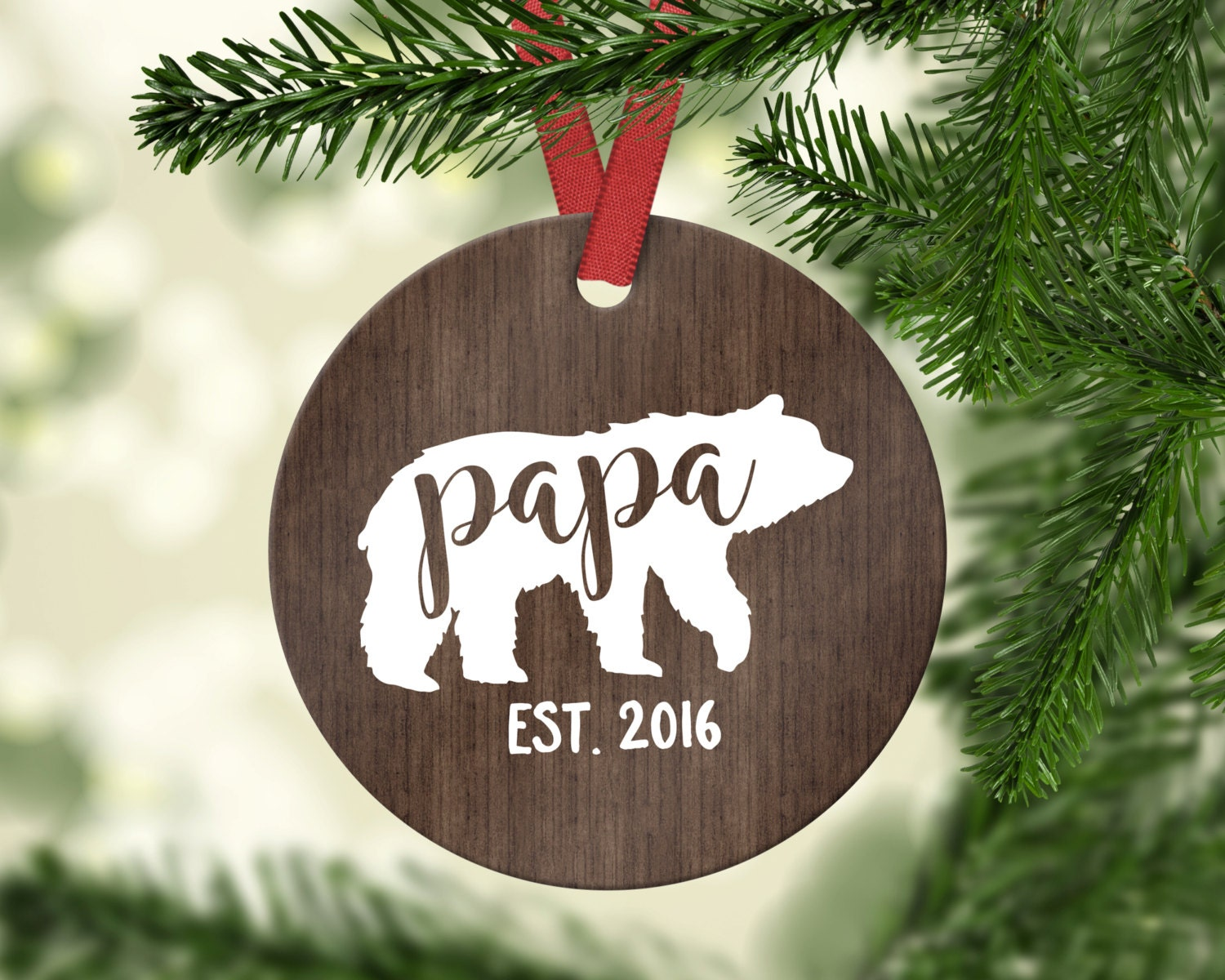 50 - Dad Christmas Ornament