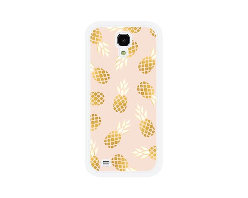 new arrivals b5558 3a516 Pineapple Samsung Galaxy S5 Case - Samsung Galaxy S4 Case - Pink and Gold  Samsung Galaxy S7 Case - Phone Case - Samsung Galaxy Case Fun