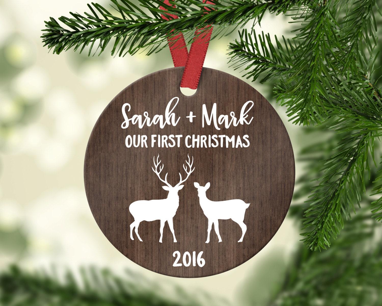 Hochzeit Weihnachten Ornament erste Weihnachten Ornament | Etsy