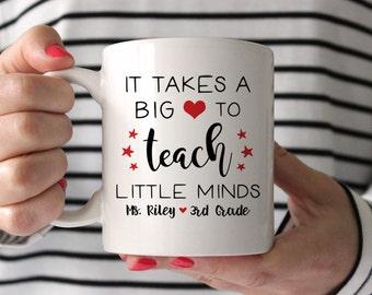 Teacher Gifts Personalized Teacher Appreciation Gifts for Teachers Teacher Graduation Gift Teacher Mug New Teacher Gift Teacher Coffee Mug