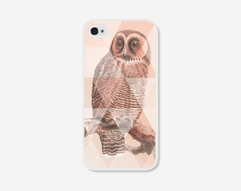 Owl Phone Cases 5s Phone Covers iPhone 6 Case iPhone 5c Case iPhone 6 Plus Case Coral Geometric iPhone 6s Case iPhone 6s Plus Case