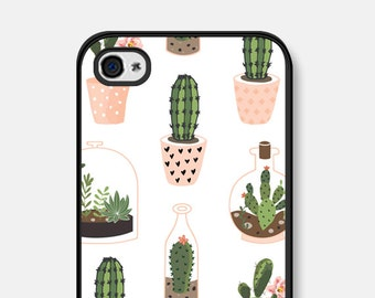 Cactus iPhone 6 Case Succulent iPhone 6s Case Cactus iPhone 5 Case Succulent iPhone 5c Case Samsung Galaxy S7 Case Samsung Galaxy S5 - Cco