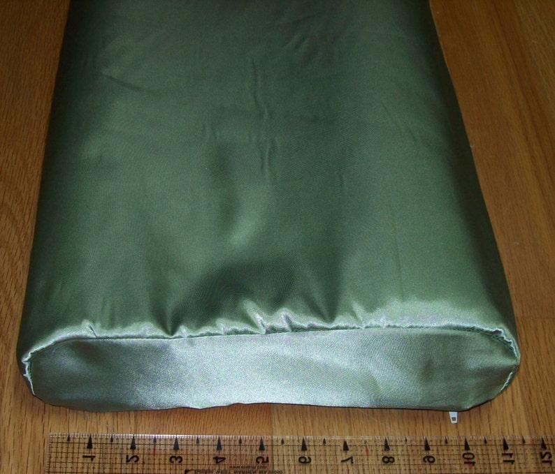 Satin Pillowcase For Tempur Pedic Neck Pillow Contour Shaped Etsy