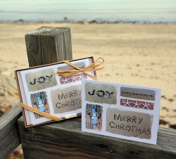 image 0 - Beach Themed Christmas Cards