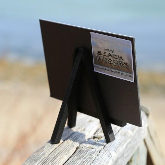 Playa tema NANA impresión de foto en pequeño caballete de | Etsy