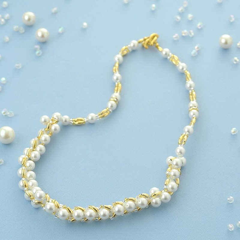 Star Star Star de l'hiver bricolage Toho perles scintillantes de Kit collier japonais Craft Kit TL-T-2 2002ca