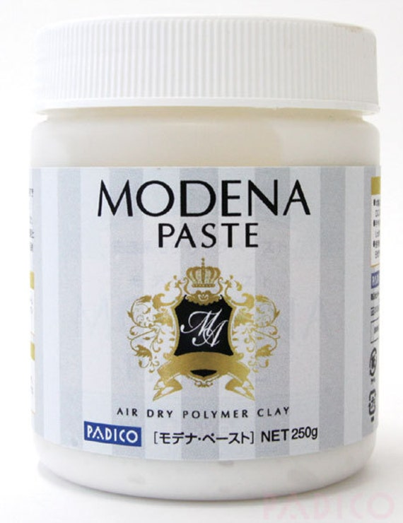 White PADICO MODENA SOFT AIR DRY POLYMER CLAY Made in Japan