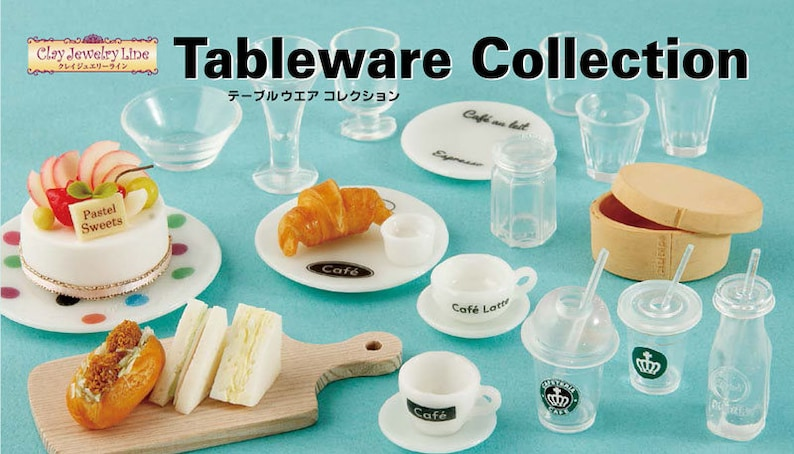 Tableware Collection transparent sheet For Clay  Resin  UV Resin from Japan GR-991