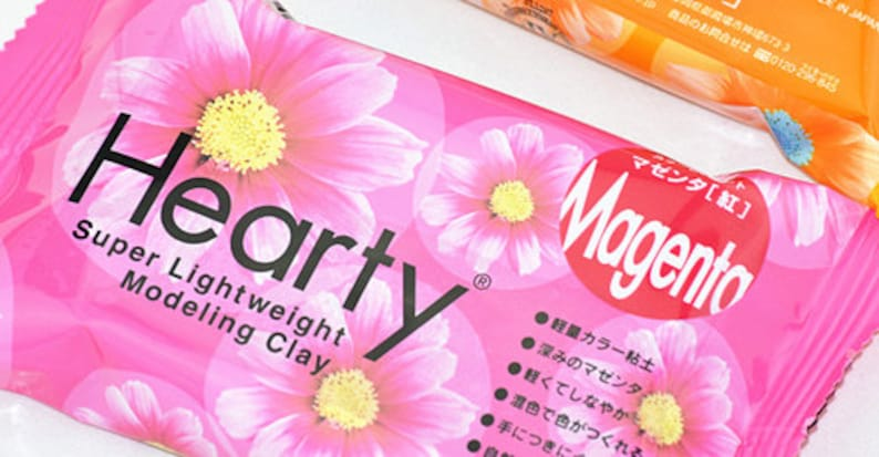 Padico Dark Brown Hearty clay super lightweight from Japan 50g Figurines  Doll  Flower  Miniature Food 303137
