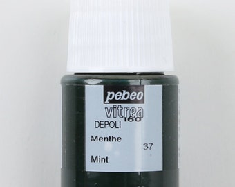 Resin Color Pigment Acrylics Pebeo VITR-37 Mint (Transparent Color)  20ml From Japan