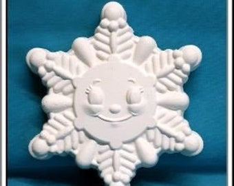 Craft Projects Plasters to Paint Plaster Shapes /& Blanks Diy Plastercraft Kids Craft Chalkware Figure Ready 2 Paint Snowflake