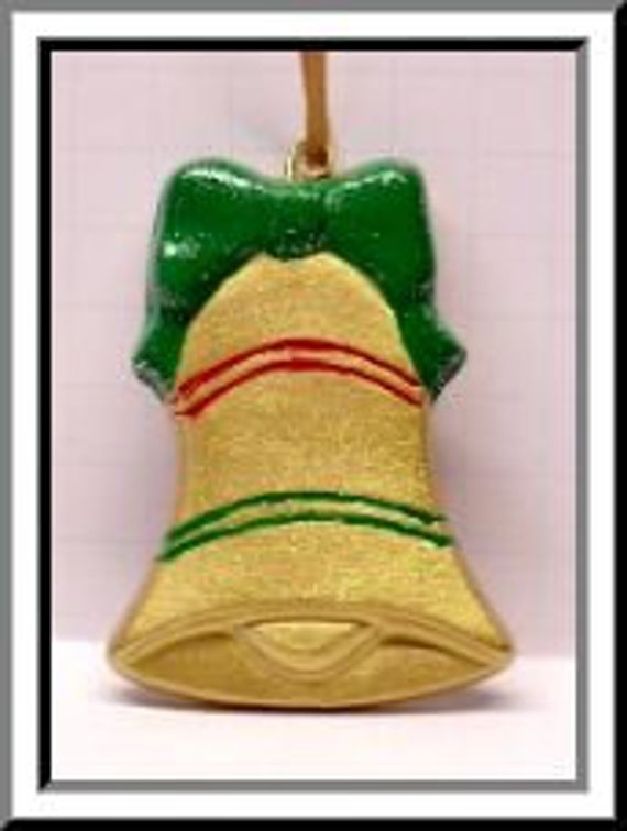 DIY PlasterCraft Ready To Paint PlasterCraft Teddy Bear Chalkware Bear Hanging on Bell Christmas Ornaments U Paint Plaster Craft
