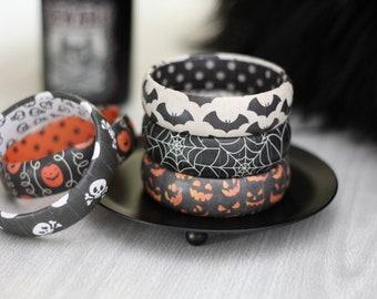 Halloween Bracelet - Halloween Jewelry - Stacking Bracelets - Halloween Gift